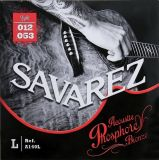 Savarez struny pro akustickou kytaru Acoustic Light .012-.053 A140L