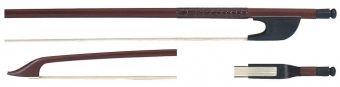 Bach-smyčec Tenor-Gambe Brazil dřevo, školní smyčec