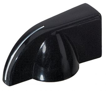Poti-knoflík Černá