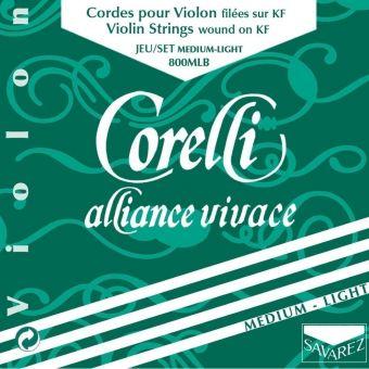 Corelli struny pro housle Alliance Light 800MLB