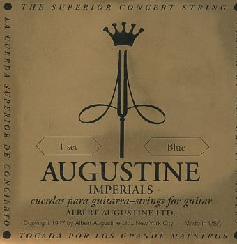 Augustine struny pro klasickou kytaru Imperial Label Sada Black light