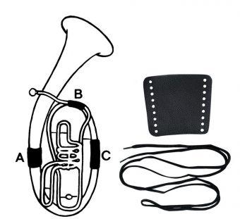 Ochrana pro držení Kůže Koncertní trumpeta