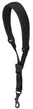 Popruh pro saxofon Wick-It Junior-černá, délka 38,1 - 45,7 cm