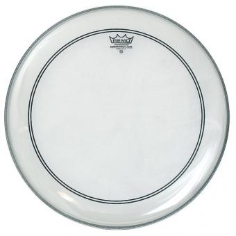 Blána pro bicí Powerstroke 3 Transparentní Bass drum 26