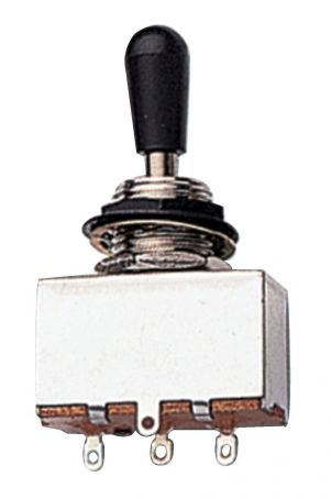 Vypínač Toggle Switches Černý knoflík