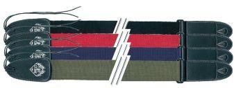 Popruh pro kytaru F&S Nylon Edition Černá