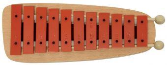 Zvonkohra GH 11 GH11R červené destičky