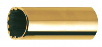 Bottleneck/Slide Socket Slide Brass Medium