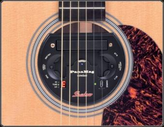 Magnetický snímač SH PMG-W Akustická kytara SH PMG-W