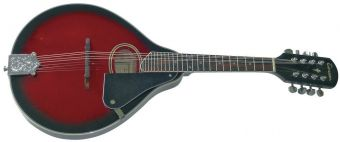 Folk-Mandolína A–1 Oval Black Cherry