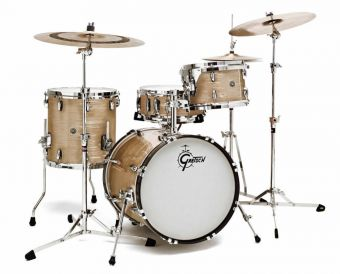 Bass drum USA Brooklyn Cream Oyster