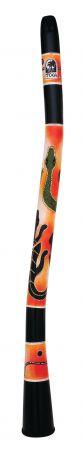 World Percussion Zahnuté Didgeridoos Gecko DIDG-CG