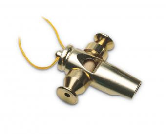 Píšťalka Samba Tri-Tone Zlatá barva LP352