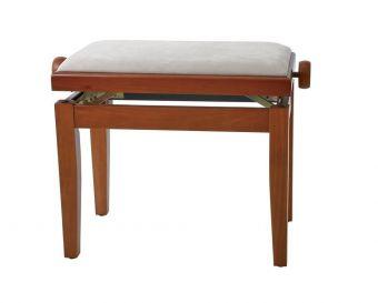 Piano stolička Deluxe Třešeň mat Béžový potah JB2