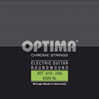 Optima struny pro E-kytaru Chrome Strings. Round Wound E.010 PS010