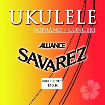 Struny pro Ukulele Sopran/Concert Sada Sopran/Concert 140R