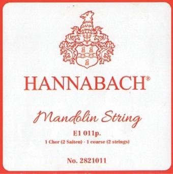 Hannabach struny pro Mandolínu E .009 2821009