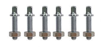 Ladící šrouby Compact Congas & Bongos - LP825 LP826 LP828 Chrom, 6 kusů LP825T