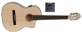 E – akustická kytara Pro Natura Silver Samba E-akustické