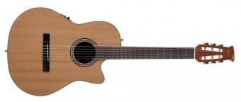 E – akustická kytara AB24CII Mid Cutaway Nylon Natural Satin AB24CII-CED
