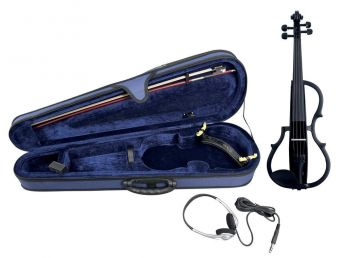 E-housle Černé, barevné lakování