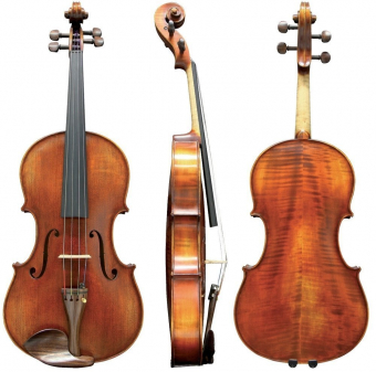 Koncertní viola Georg Walther 40,8 cm Hratelné provedení