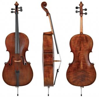 Cello Germania 11 4/4 Model Prag antik Hratelné provedení