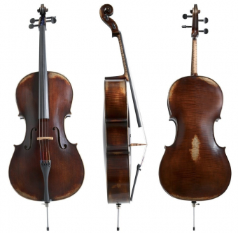Cello Germania 11 4/4 Model Paris antik Hratelné provedení