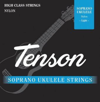 Struny pro Ukulele Tenson Černý nylon .022-.032 Sada+