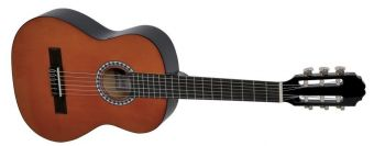 Koncertní kytara Basic 1/4 černá