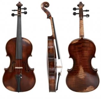 Koncertní viola Germania 11 Model Paris Antik 39,5 cm Provedení: hratelné