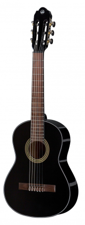 Konzertgitarre Student black 1/2 velikost black