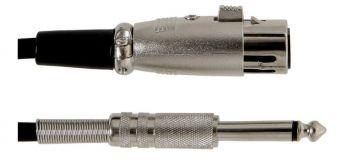 Kabel pro mikrofon Basic Line 6 m/jednotkové balení 10 ks