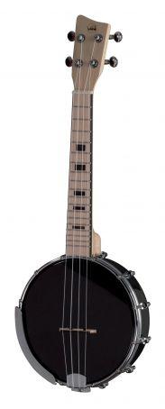 Banjo Ukulele Manoa B-CO-A Banjo-Ukulele Concert Černá