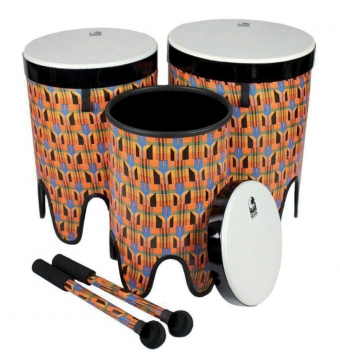 Nesting Drums Tom Tom  Freestyle II 3-tá sada (12
