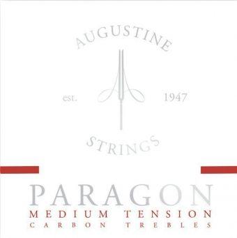Augustine struny pro klasickou kytaru Paragon Carbon Červená sada medium