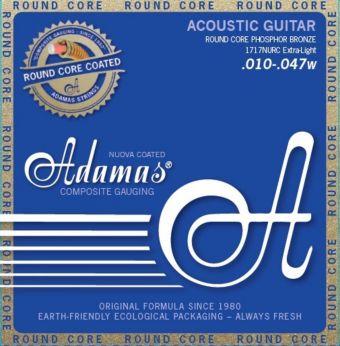 Adamas struny pro akustickou kytaru Nuova Phosphor Bronze Extra Light .010-.047 1717NU