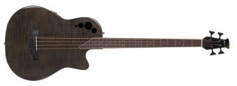 E-Akustický Bass AEB4IIP Mid Cutaway 4-strunná Transparent Black Flame AEB4IIP-TBKF