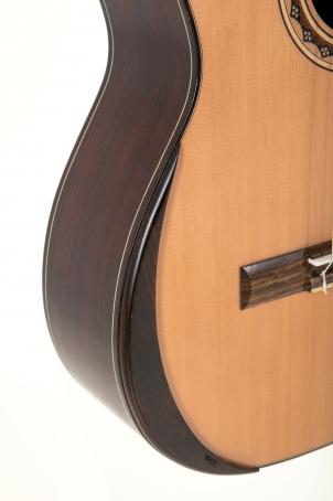 chánic ruky Koncertní kytara Barva mahagon