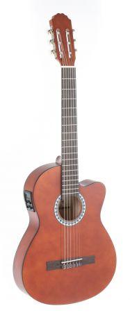 Koncertní kytara Basic Electro E-akustická, vlašský ořech, slim body