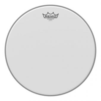 Blána pro bicí Ambassador Bílá, zdrsněné na bas drum 26