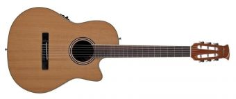 E-akustická, klasická kytara AB24CII  Mid Cutaway Nylon Natural Satin AB24CC-4S