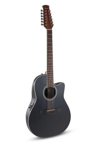 E – akustická kytara AB2412II Mid Cutaway 12-strunná Black Satin AB2412II-5S