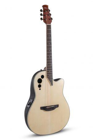 E – akustická kytara AE44II Mid Cutaway Natural Satin AE44-4S