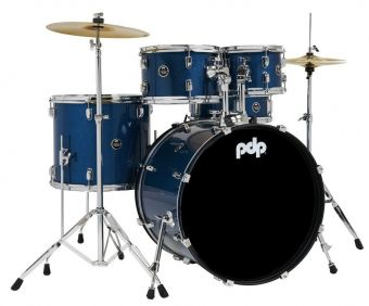 E-bicí sady Centerstage Black Onyx Sparkle PDCE2215KTBO