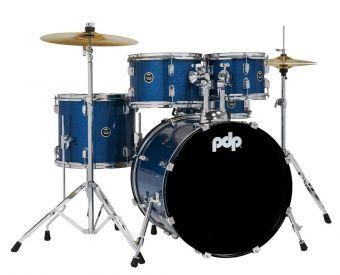 E-bicí sady Centerstage Blue Sparkle PDCE2015KTRB