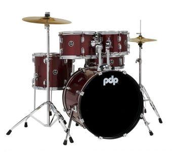 E-bicí sady Centerstage Red Sparkle PDCE2015KTRR