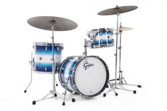 Bass drum USA Brooklyn Blue Burst Pearl