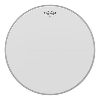 Blána pro bicí Ambassador X Bílá, zdrsněná 18