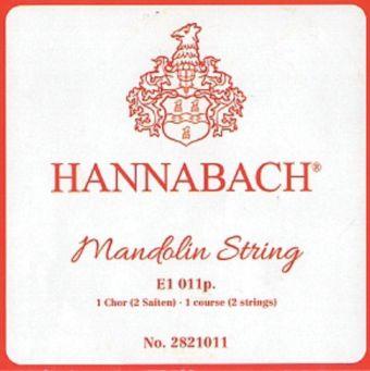 Hannabach struny pro Mandolínu  E .010 2821010